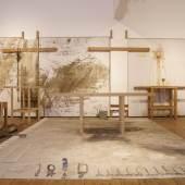 Reliktinstallation ( 96.Aktion Napoli 1996 )_(c) Fondazione Morra – Museo Nitsch Napoli.