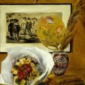 Pierre-Auguste Renoir, Stillleben mit Blumenbouquet, 1871auf Leinwand, 29 x 23 cm, The Museum of Fine Arts, Houston, Robert Lee Blaffer Memorial Collection, Geschenk von Sarah Campbell Blaffer, 51.7
