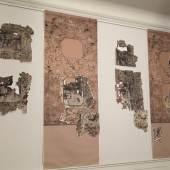 Visualisierung des Raumeindrucks mit einer chinesischen Print-Room-Tapete im Berliner Schloss Schönhausen. Foto: SPSG/Detlef Fuchs