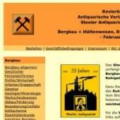 Unternehmenslogo Antiquarische Verlagsbuchhandlung Steeler Antiquariat