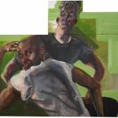 Rainer Fetting, Desmond and Jeff 2018, Acryl auf Leinwand, 155 x 170 cm