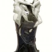 """Vase """"Rheingold"""" Bauer, Rosenthal & Co KG, Kronach, Entwurf: Adolf Oppel, um 1900, Schätzpreis EUR 1.400,-"""