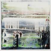 Gerhard Richter 1. Jan. 2000 (Firenze) Öl auf Farbfotografie, 2000 12 x 12 cm