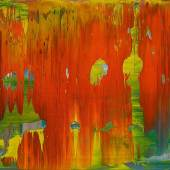 Lot 641 Nr. 394 118 Gerhard Richter Abstraktes Bild (WVZ 841-9). 1997 Öl auf Alu-Dibond, 29 x 37 cm Schätzpreis: € 300.000 – 400.000,-