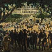 William Conor, The Dublin Horse Show, oil on canvas, est. £80,000-120,000 / €90,000-135,000
