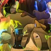 Pipilotti Rist, Cape Cod Chandelier, 2011 Videoinstallation Ausstellungsansicht Kunsthaus Zürich, 2016 Foto: Lena Huber, Courtesy the artist, Hauser & Wirth and Luhring Augustine