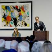Ernst Wilhelm Nay | Weltrekord für Nay - Mit dem Erlös von € 2.312.500* erzielt Auktionator Robert Ketterer einen neuen Weltrekord