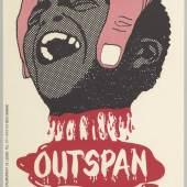 Rob van der Aa, Outspan, Bloedsinaasappels, pers geen Zuidafrikaan uit!, 1975. International Institute for Social History, Amsterdam