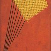 """Alexander Rodchenko, Construction No. 95 (1919), Estimate £2,500,000 – 3,500,000 """"the inaccurate, trembling line traced by the hand cannot compare with the straight and precise line drawn with the set square"""" - Alexander Rodchenko, 'The Line', 1921"""