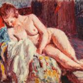Roderic O'Conor, Nude Reclining in an Armchair