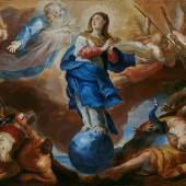 Johann Michael Rottmayr, Triumph der Immaculata, 1697, Öl auf Leinwand, Inv.-Nr.: 488-31, © Salzburg Museum