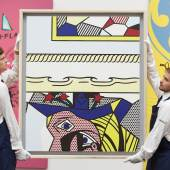 Roy Lichtenstein, Two Paintings with Dado (1983)