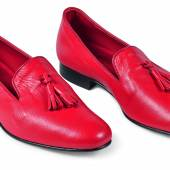 Red  Slippers  by  Foster  and  Sons