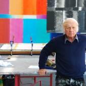 RS5817 Fotografie Portrait Heinz Mack im seinem deutschen Atelier, 2012