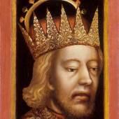 Porträt Herzog Rudolf IV. Das erste europäische Bildnis im Halbprofil um 1360