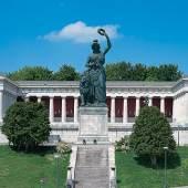 Ruhmeshalle und Bavaria, München  © Bayerische Schlösserverwaltung www.schloesse