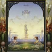 Philipp Otto Runge (1777-1810) Der Kleine Morgen, 1808 Öl auf Leinwand, 109 x 85,5 cm © Hamburger Kunsthalle/bpk Photo: Elke Walford