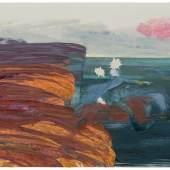 Ruprecht von Kaufmann, Custer's Last Stand, 2020 Öl auf Linoleum auf Holz, 122,5 x 153 cm