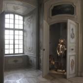 Das Landtwing-Kabinett: ein Bijou im Château de Zoug Foto: Samuel Mühleisen