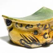Sancai-glazed pillow, Jin dynasty