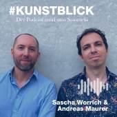 Sascha Worrich und Andreas Maurer (c) Kunstblick Podcast