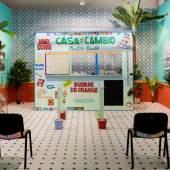 SOL CALERO (*1982) Casa de Cambio, 2016 Art Basel Statements, Basel © Courtesy die Künstlerin, ChertLüdde, Berlin und Crèvecoeur, Paris Foto: Andrea Rosetti