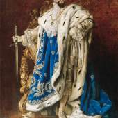 """Gemälde """"König Ludwig II. als Großmeister des St. Georgs-Ritterordens"""", Gabriel Schachinger, 1887, Herrenchiemsee, Ludwig II.-Museum © Bayerische Schlösserverwaltung"""