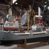 Schiffsmodellbautage im Hafenmuseum Hamburg, Fotos: Hafenmuseum / Karin Hasse