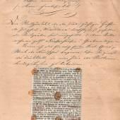 Manuskript von Friedrich Schindler Rundschau von Wien's Neubauten und Spazier- gang durch dessen neue Straßen 1866