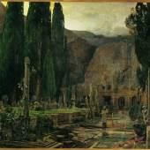 Emil Jakob Schindler  Pax, 1891  Öl auf Leinwand, 207 x 271 cm  © Belvedere, Wien