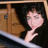 Daniel Angeli  Elizabeth Taylor in Gstaad, 24. Dezember 1979