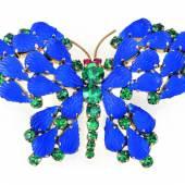 Nr. 68 Schmetterlingsbrosche Rudolf Weiss Rufpreis € 280