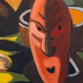 Abbildung: Karl Schmidt-Rottluff, Masken, 1938, Brücke-Museum Berlin