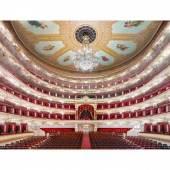 Bolshoi Teatr Moskwa II 2017 (2017) Candida Höfer Galerie Rüdiger Schöttle  Copyright: Candida Höfer und VG-Bild, Bonn 2019  Courtesy: the artist and Galerie Rüdiger Schöttle