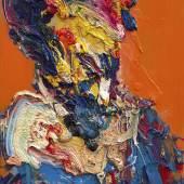 "Li Hua, geb. 1980   ""Porträt Gustav Klimt 4"" Öl auf Leinwand, 2017,  116,5 x 72 cm Foto: © Schütz Fine Art - Chinese Department"