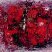 Emil Schumacher: Sodom, 1957 Öl auf Leinwand, 132 x 170,5 cm Bez. r. u.: Schumacher 57 Osthaus Museum Hagen Foto: Achim Kukulies, Düsseldorf © VG Bild-Kunst, Bonn 2017