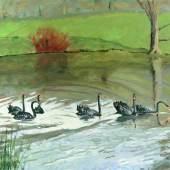 Black Swans at Chartwell, 1948 Churchill Heritage Ltd