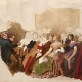 SCHWIND, Moritz von 1804 – 1871 | Ein Schubertabend bei Joseph von Spaun 1868, € 50.000 – 100.000