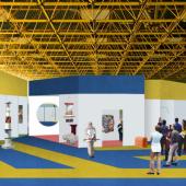 Biennale Interieur - Belgium's leading  - Render by Piovenefabi for INTERIEUR 2021 scenography