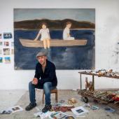 GALERIE KARSTEN GREVE5, RUE DEBELLEYMEF-75003 PARISTEL +33-(0)1-42 77 19 37FAX +33-(0)1-42 77 05 58info@galerie-karsten-greve.frGideon Rubin in his studio, 2020. Photo: Richard Ivey