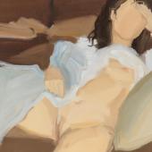 Gideon Rubin Untitled 2019 Oil on linen50 x 50 cm / 19 2/3 x 19 2/3 in