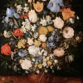 Jan Brueghel d. Ä. 1568–1625 tätig in Rom, Mailand, Antwerpen und Brüssel  Kleiner Blumenstrauß um 1607