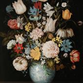 Ambrosius Bosschaert d. Ä. 1573–1621 tätig in Middelburg  Blumenstrauß 1609
