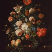 Rachel Ruysch 1664–1750 tätig in Amsterdam und Den Haag  Blumenstrauß 1706