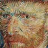 Self-Portrait with Grey Felt Hat   Vincent van Gogh (1853 - 1890), Paris, September-October 1887  oil on cotton, 44.5 cm x 37.2 cm  Credits (obliged to state): Van Gogh Museum, Amsterdam (Vincent van Gogh Foundation)