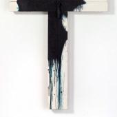 Arnulf RainerVotivkreuz, 1982/83Oil on wood with object141.5 x 118 cm (55.71 x 46.46 in)(AR 1261)