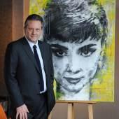 Sean Hepburn-Ferrer, son Audrey Hepburn (c) Nahid Shahalimi