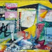 Sonja Sekula «Ohne Titel», 1942 Öl auf Leinwand, 61 x 96,5 cm (Ausschnitt)