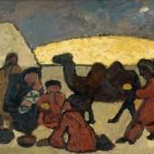 Paula Modersohn Becker, Anbetung der Drei Könige, 1907, Paula Modersohn-Becker Museum, Bremen, Leihgabe aus Privatbesitz