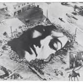 sich von unten von oben sehen 1960 | Fotocollage | 31,5 x 45,5cm